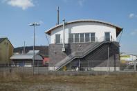Feuerwehrgerätehaus mit Rettungswache und Energiezentrale Vorhalle