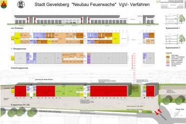 Feuer- und Rettungswache Gevelsberg – VgV-Verfahren – 1. Preis