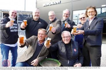 Bergmann Brauerei – offizielle Eröffnung
