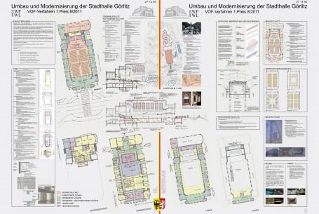 Sanierung Stadthalle Görlitz VOF-Verfahren 1. Preis
