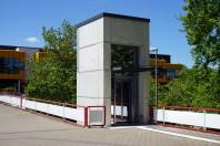 TU Dortmund Aufzug Mensabrücke